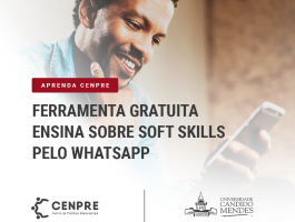 Aprenda CENPRE - Ferramenta gratuita ensina sobre soft skills pelo WhatsApp