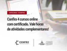 Aprenda CENPRE - 4 cursos online com certificado