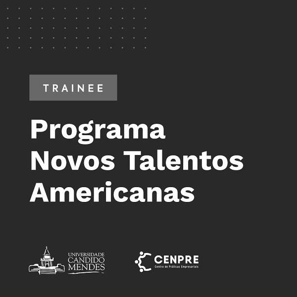 Programa Novos Talentos Americanas -Trainee