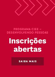 Programa do CIEE Desenvolvendo Pessoas com inscrições abertas para abril