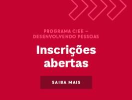 Aprenda CENPRE - Programa do CIEE Desenvolvendo Pessoas com inscrições abertas para abril